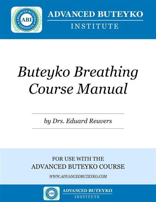 Buteyko Breathing Course Manual