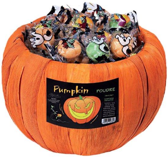 Halloween Snoep.Halloween Pompoen Snoep Feestdecoratievoorwerp