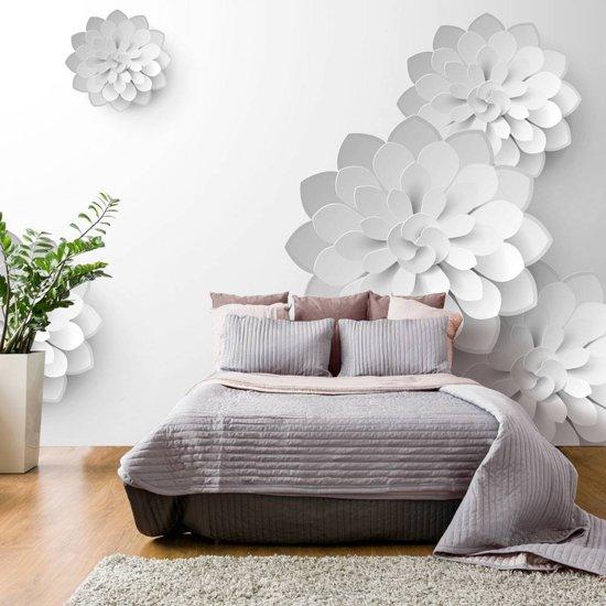 Fotobehang - Witte tuin