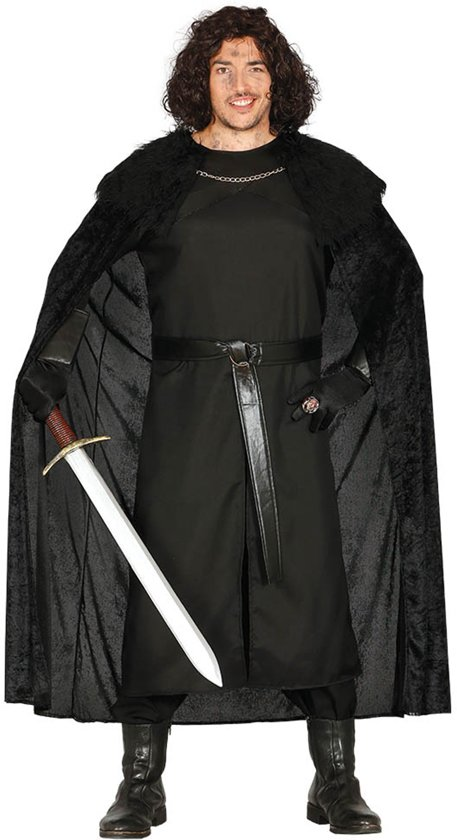 Game of Thrones Kostuum | Poortwachter Uit De Middeleeuwen | Man | Maat 48-50 | Carnaval kostuum | Verkleedkleding