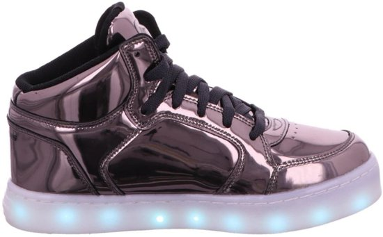 377a427d7708 Skechers Sneakers Kids Energy Lights- Eliptic-90603L-Maat-35-Gunmetal