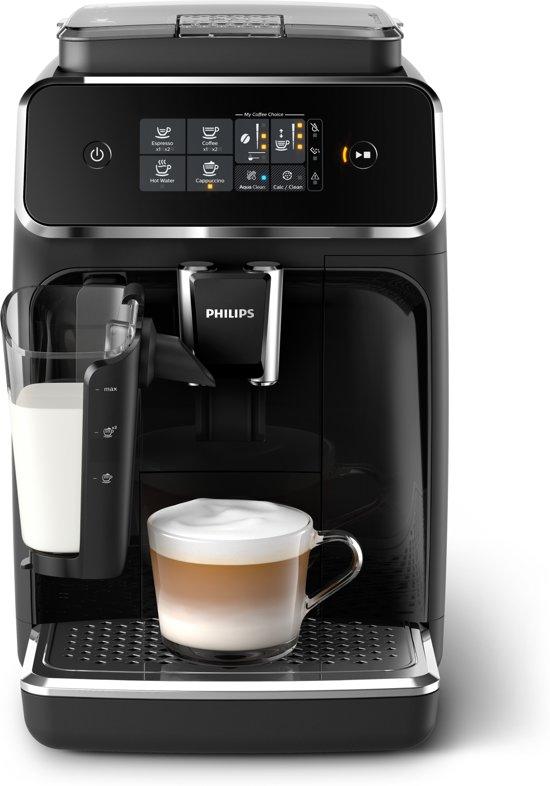 Philips 2200 Serie EP2231/40 - Espressomachine incl. LatteGo melksysteem - Zwart/RVS