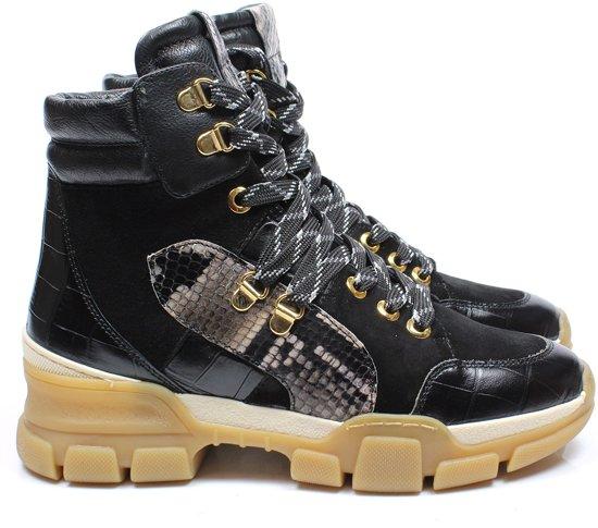 Maripe 29381 boots - zwart / combi