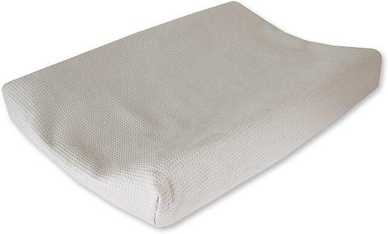 2ebe2e5051acae bol.com | Cottonbaby Wafel - Aankleedkussenhoes - Grijs