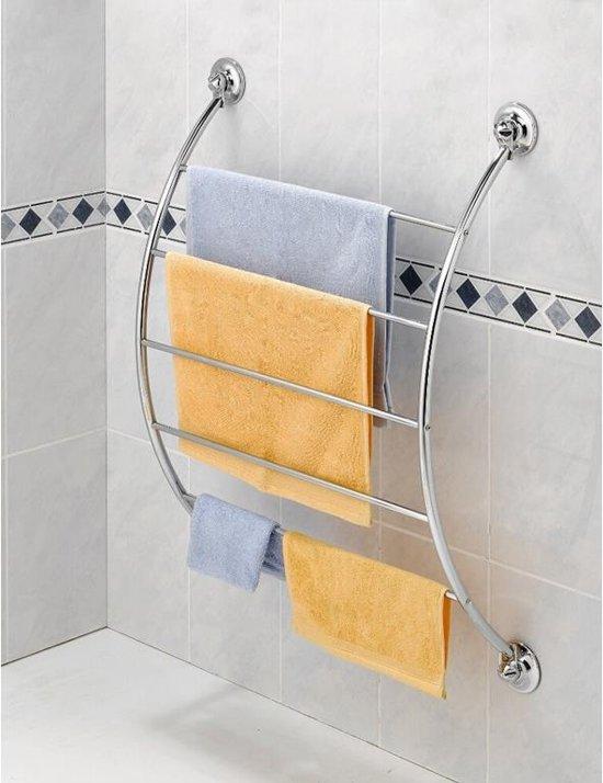 bol.com | Everloc Gebogen handdoekrek