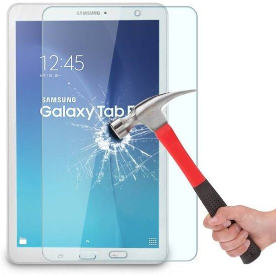 648815d82f0 Tempered Glass Screenprotector geschikt voor Samsung Galaxy Tab E 9.6