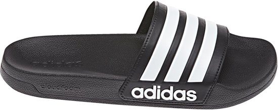 adidas Adilette Shower Slippers Unisex - Black/White