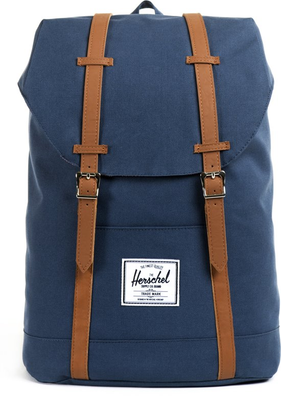 bol | herschel supply co. retreat - rugzak - navy