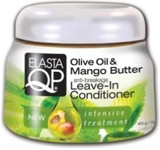 Elasta Qp Olive Oil & Mango Butter Leave-In Conditioner 426 gr
