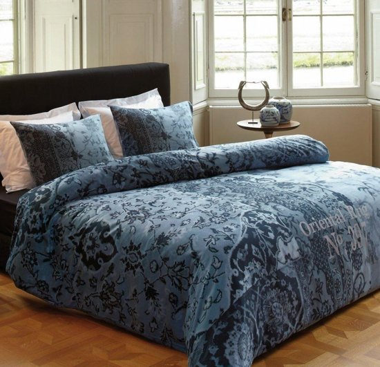 Dekbedovertrek Kardol en Verstraten Oriental Rug - Blue - Lits-jumeaux - 240x200/220 cm