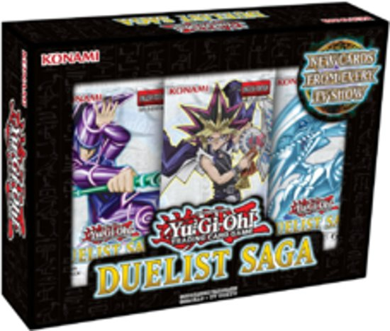 Yugioh Duelist Saga Pack