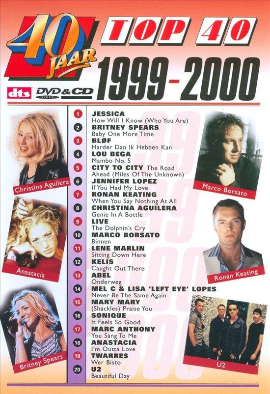 Cover van de film '40 Jaar Top 40 - 1999/00'