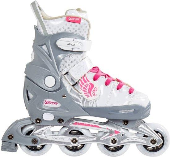 Tempish Lux Rebel Inline Skates Meisjes Grijs/wit Maat 33/36