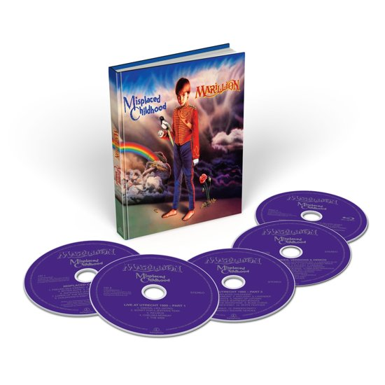 Afbeeldingsresultaat voor Marillion-Misplaced childhood album cover 5-CD
