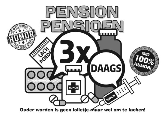 PENSION PENSIOEN 3 X DAAGS