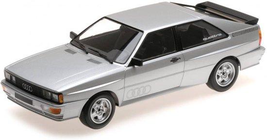 Audi Quattro 1980 Zilver 1-18 Minichamps Limited 504 Pieces