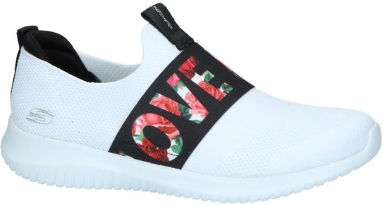 Slip Skechers Sneakers Flex Ultra on Witte A71wq47
