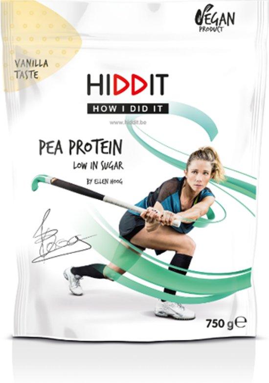 Ellen Hoog Pea Protein Vanilla Taste - 750g