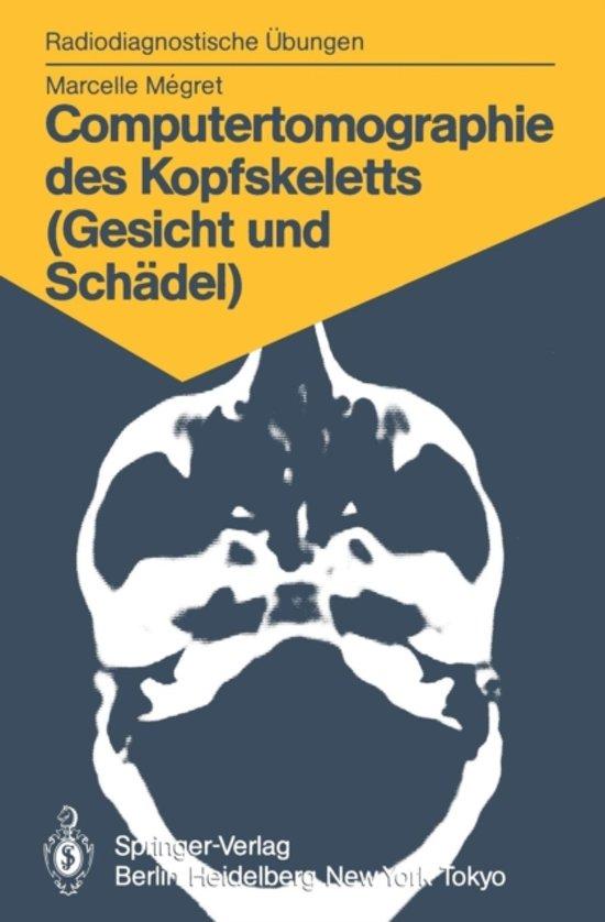 bol.com | Computertomographie Des Kopfskeletts (Gesicht und Schadel ...