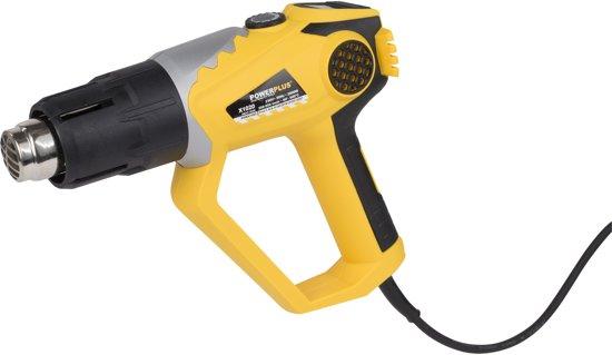 Powerplus POWX1020 Heteluchtpistool - 2000W - Incl. schraper