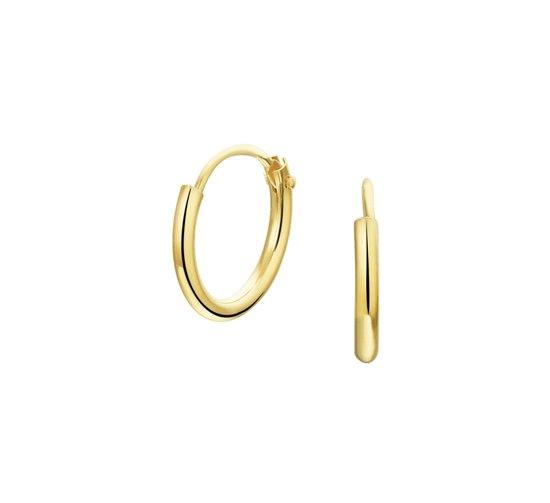 The Jewelry Collection oorringen  - Geelgoud (14 Krt.) - 11 mm