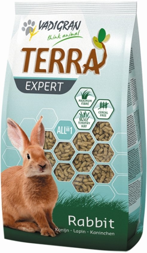 Vadigran Terra Expert All in One - Konijn - Volledig voer - 900 gr