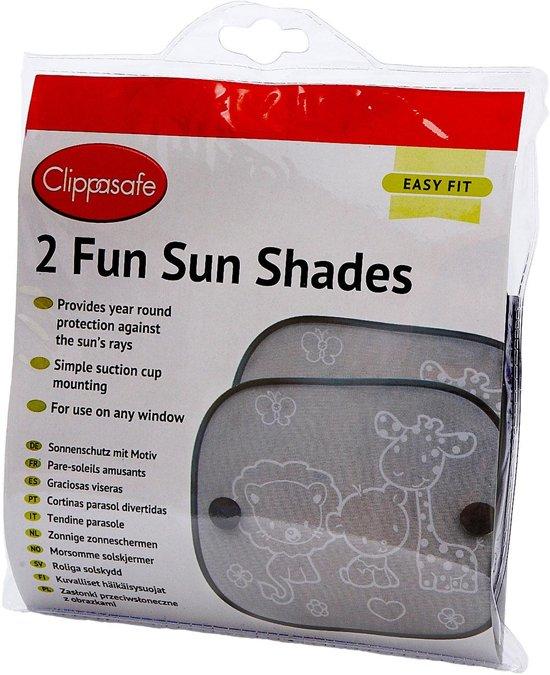 Clippasafe Zonnescherm 2 Pack