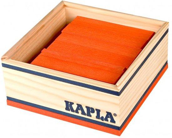 KAPLA Kleur - 40 Plankjes - Oranje