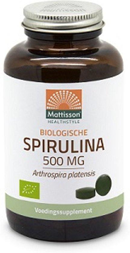 Mattisson Absolute Spirulina 500 mg Bio