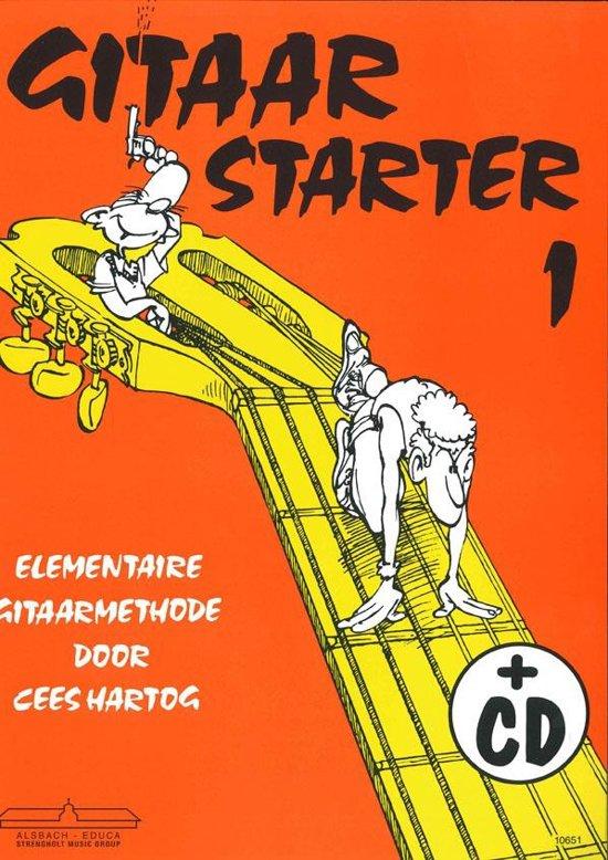 Boek cover Gitaar Starter deel 1 van Cees Hartog (Onbekend)