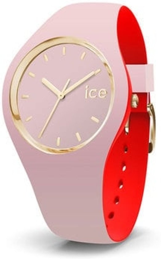 Ice-Watch IW007244 Horloge - Siliconen - Roze - Ø41,5mm