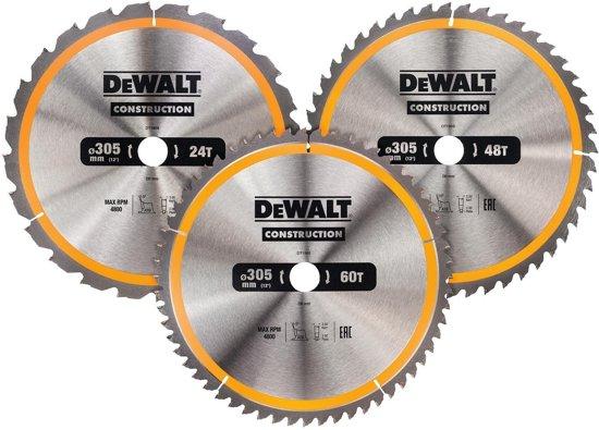 DeWALT DT1964 Cirkelzaagblen Set 305mm (24T/48T/60T 305 x 30mm)