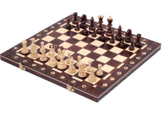 SENATOR -Luxe houten schaakbord Schaakspel