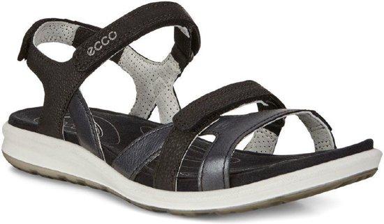 ECCO Cruise II dames sandaal Zwart Maat 40