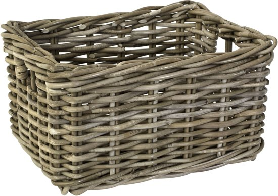 FastRider - Fietsmand Junior - Rotan - 8 liter - Naturel