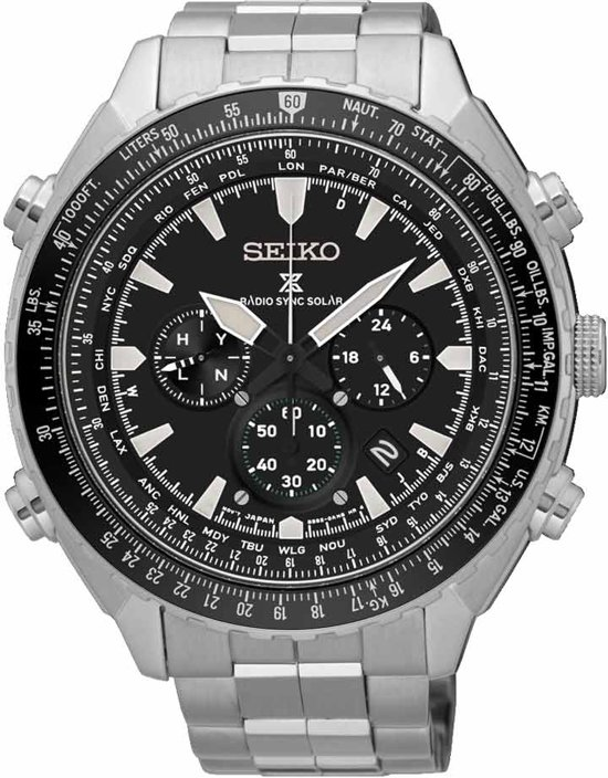 Seiko Prospex SSG001P1 horloge heren - zilver - edelstaal