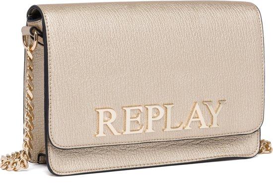 crossbody goud handtassen Replay Replay Bag QdCErBeWox