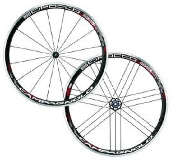 CAMPAGNOLO Scirocco 35 wiel Shimano Body Clincher zwart