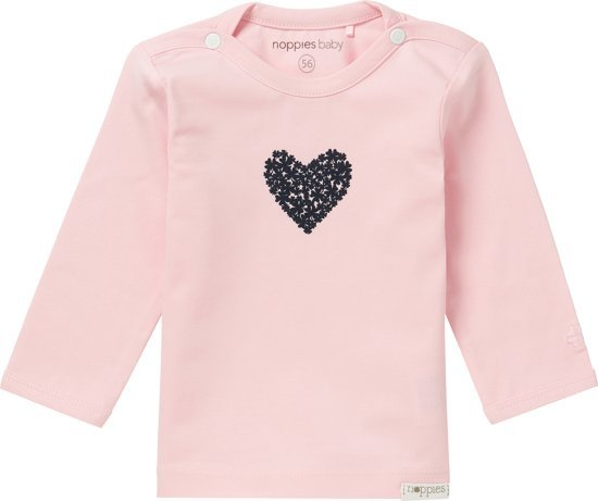 Noppies Giftset (3delig) Lichtroze Vest, Broekje en shirt - Maat 68