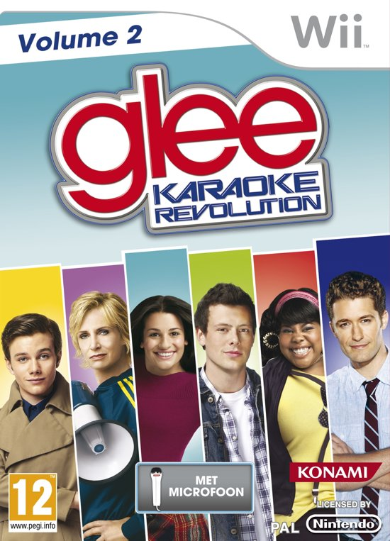 Karaoke Revolution: Glee Vol. 2 + Mic