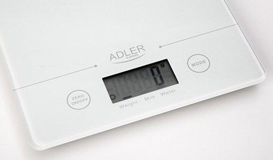 Adler AD 3138 W elektrische keuken weegschaal
