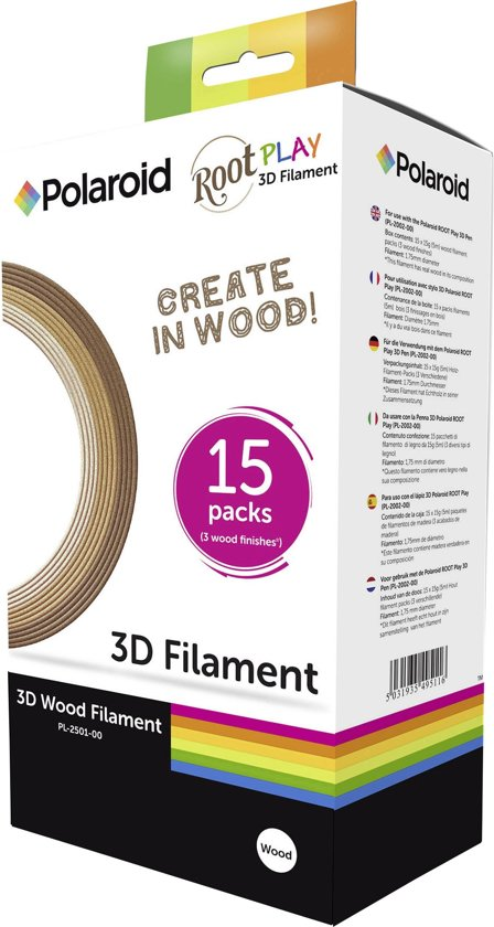 Polaroid 3D Pen Wood Filament (15)
