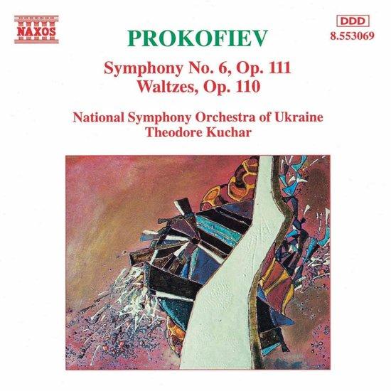 Prokofiev: Symphony no 6, Waltzes / Kuchar, Ukrainian NSO