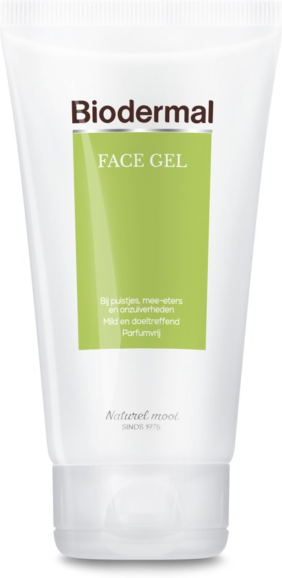 Biodermal Vette & Gemengde Huid Face Gel - Behandeling van acne en onzuiverheden - 150ml