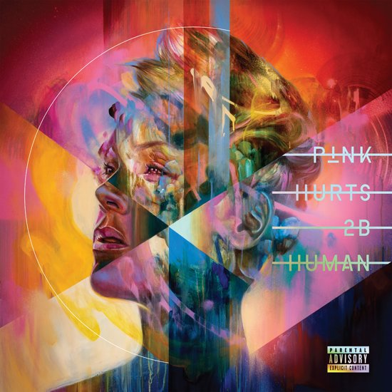 CD cover van Hurts 2B Human van Pink