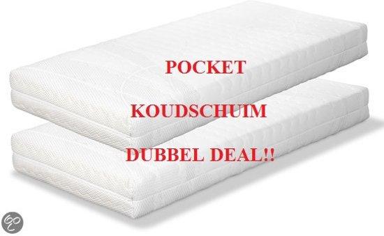 Koudschuim Matras Ikea : Bol.com koudschuim matras 80x200 cm medium set van 2