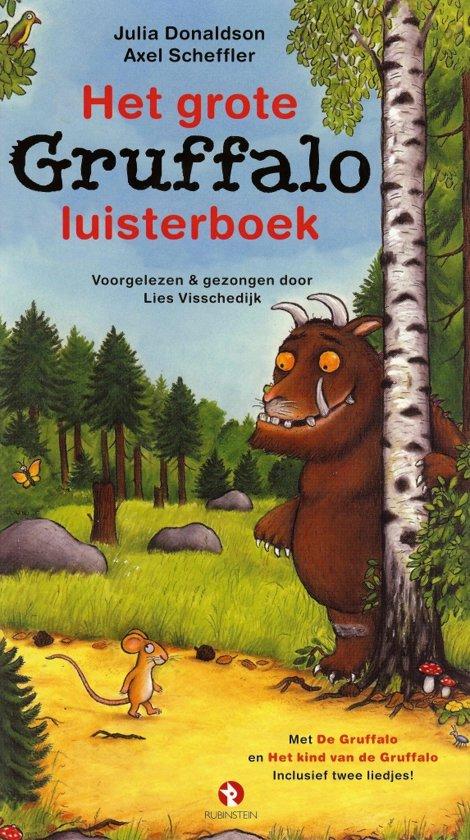 Boek cover Het grote Gruffalo luisterboek van Julia Donaldson (Onbekend)