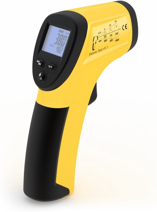 Trotec Infrarood-Thermometer / Pyrometer BP15