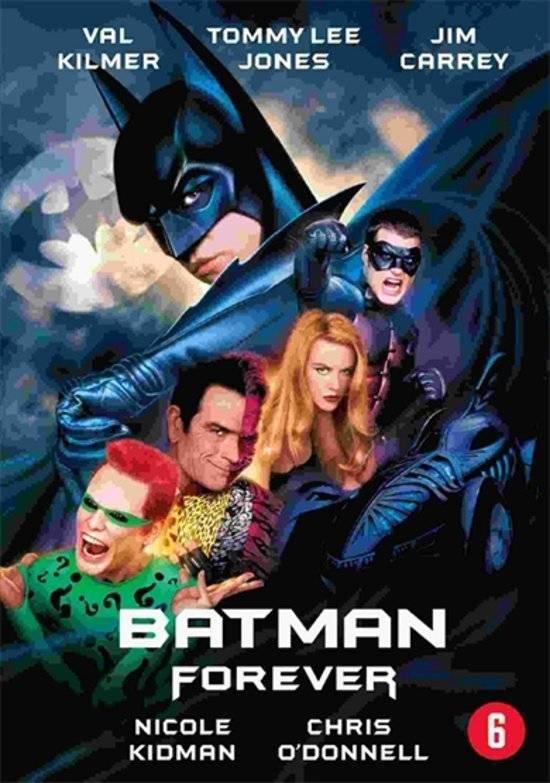 Cover van de film 'Batman Forever'