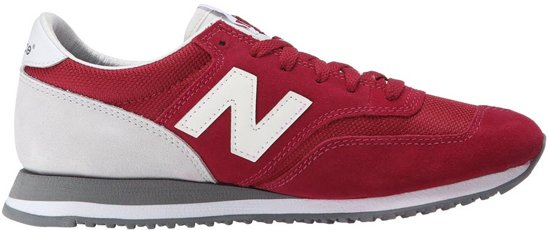 new balance sneakers dames rood